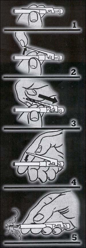 стреляющая авторучка